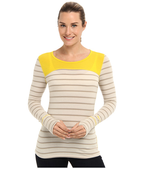 Marmot - Vanessa L/S (Moonstruck/Yellow Vapor) Women's Clothing