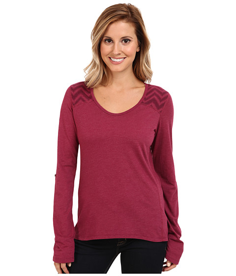Marmot - Alex L/S (Dark Fuchsia Heather) Women