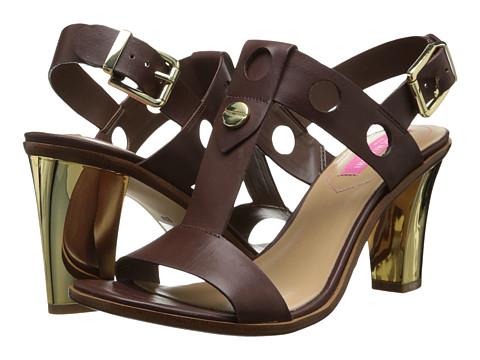 Isaac Mizrahi New York - Sasha (Walnut Leather) High Heels