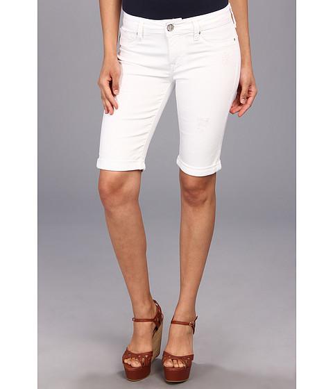 Mavi Jeans - Karly Midrise Bermuda in White R-Vintage (White R-Vintage) Women