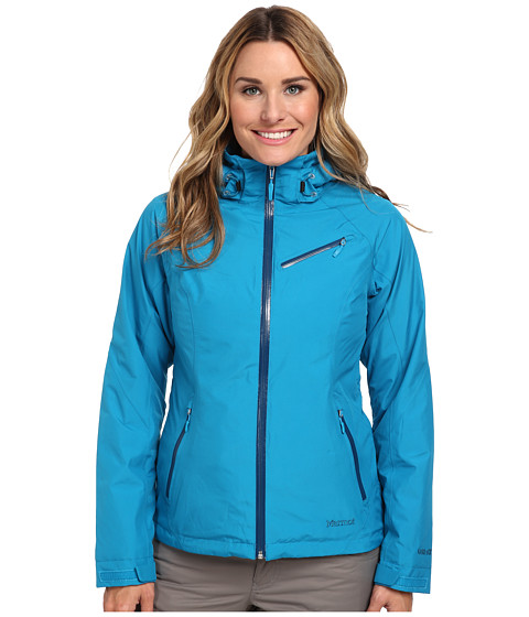Marmot - Grenoble Jacket (Aqua Blue) Women's Coat
