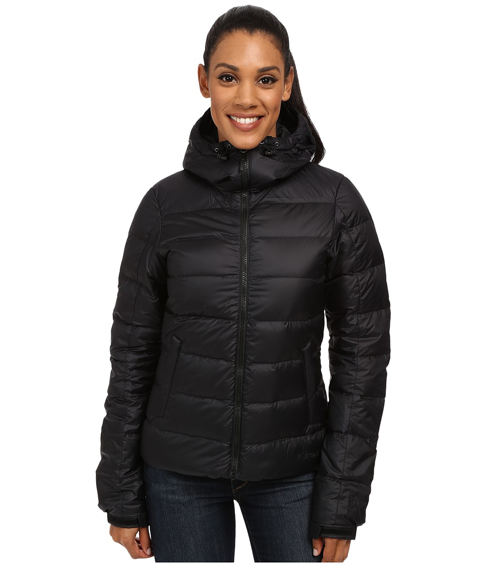 Marmot - Guides Down Hoodie (Black) Women's Sweatshirt
