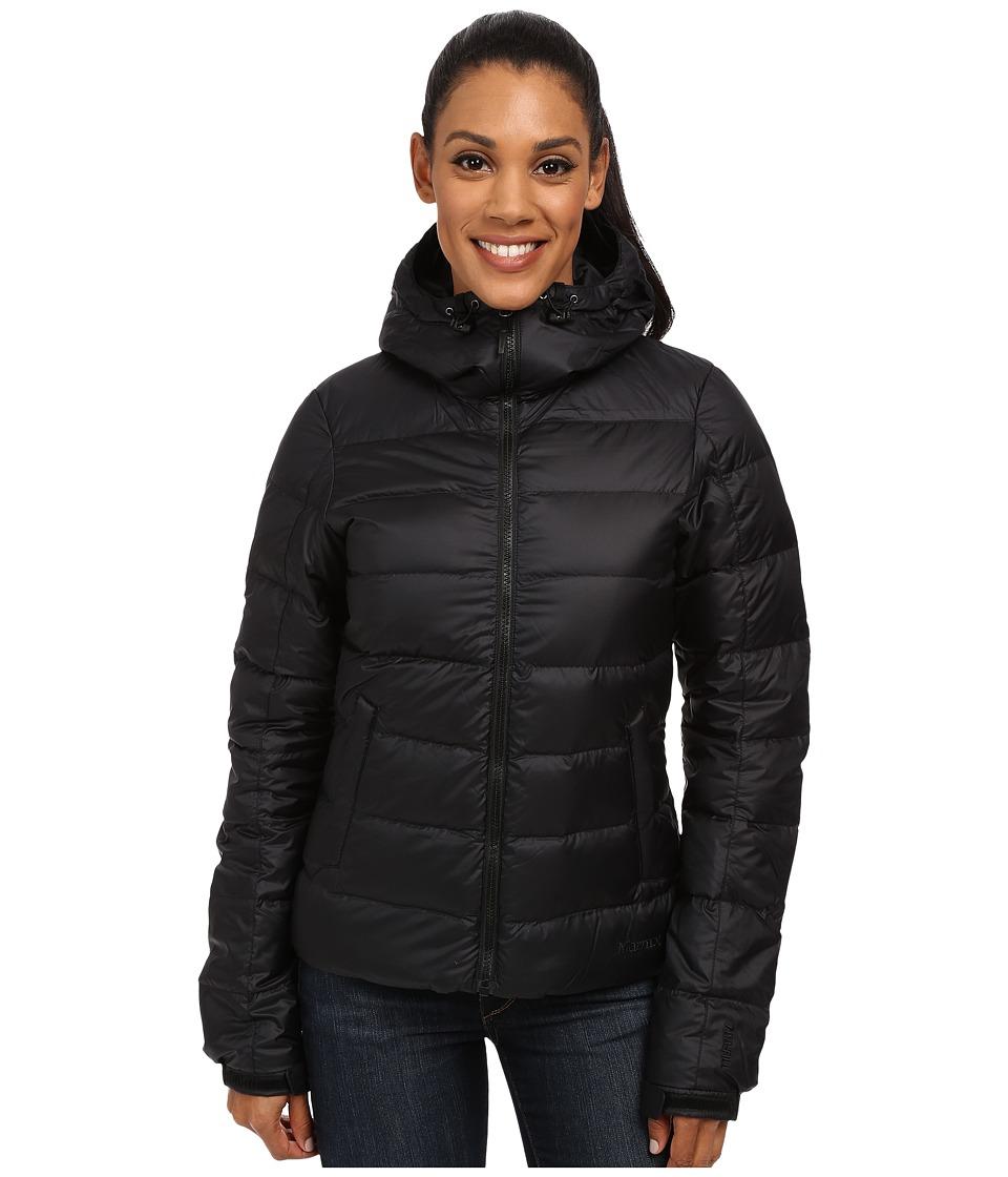 Marmot - Guides Down Hoodie (Black) Women's Sweatshirt