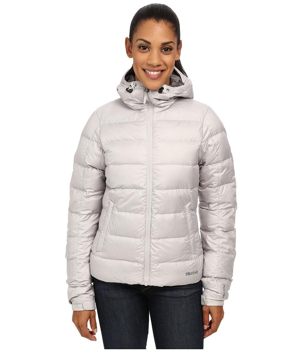 Marmot - Guides Down Hoodie (Platinum) Women's Sweatshirt