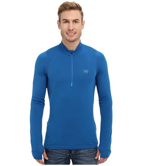 Arc'teryx - Thetis Zip Neck (Borneo Blue) Men's Clothing