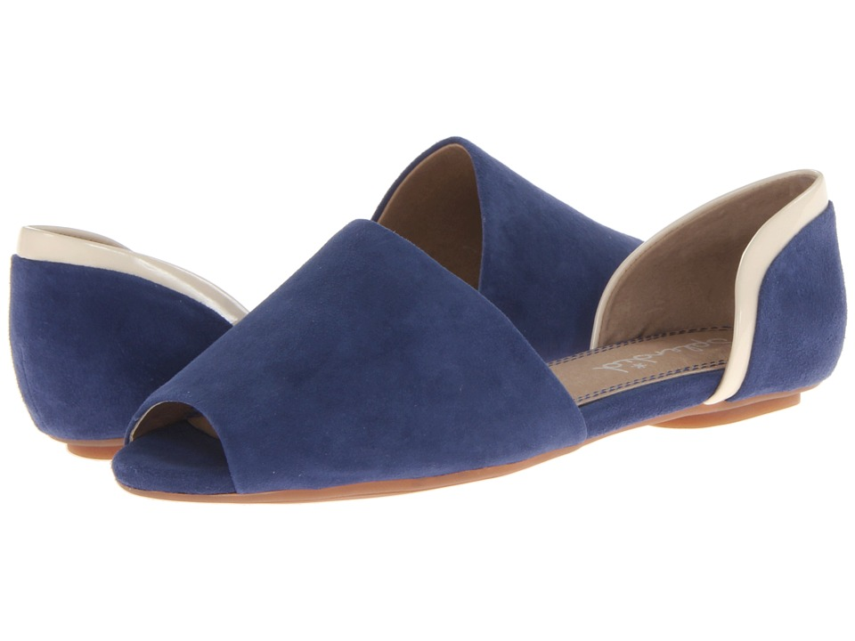 Splendid - Akron (Midnight Suede) Women's Flat Shoes