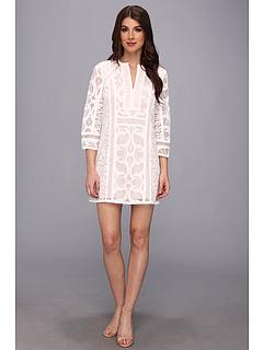 SALE! $164.99 - Save $133 on BCBGMAXAZRIA Nikki Lace Sheath Dress (White) Apparel - 44.63% OFF $298.00