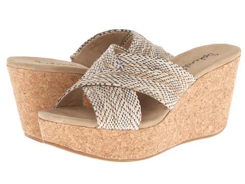 Shop Splendid online and buy Splendid Goleta Midnight Rattan Womens Wedge Shoes shoes online