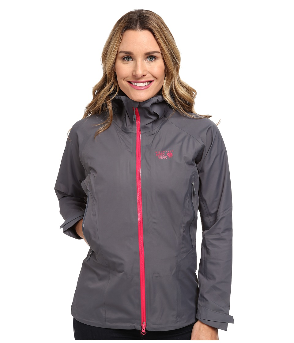 Mountain Hardwear - Torsun Jacket (Graphite/Bright Rose) Women's Jacket