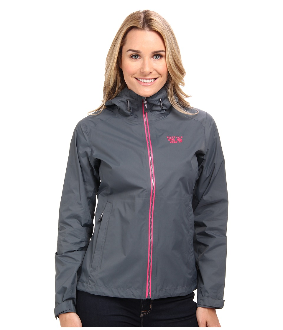 Mountain Hardwear - Plasmic Jacket (Graphite) Women's Jacket
