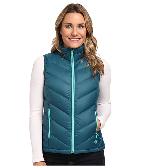 Mountain Hardwear - Ratio Down Vest (Blue Forest) Women