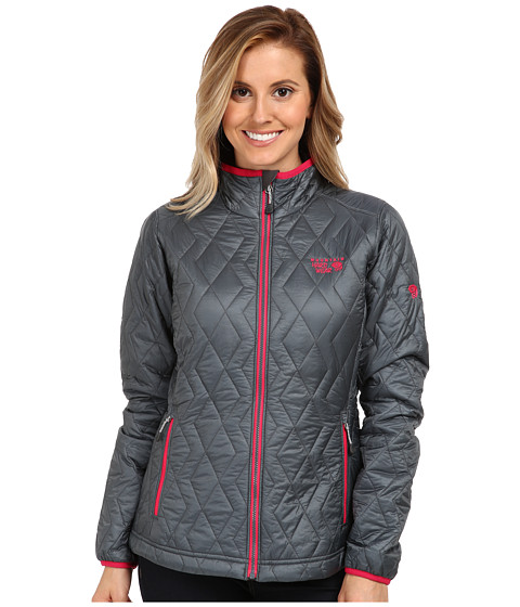 Mountain Hardwear - Thermostatic Jacket (Graphite/Bright Rose) Women's Jacket