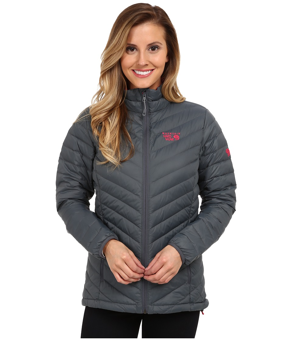 Mountain Hardwear - Micro Ratiotm Down Jacket (Graphite) Women's Coat
