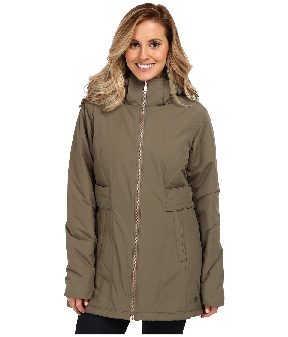 Mountain Hardwear - Potrero Parka (Stone Green) Women's Coat