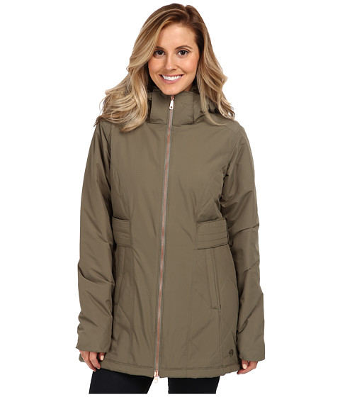 Mountain Hardwear - Potrero Parka (Stone Green) Women