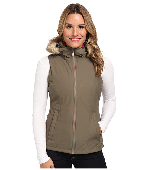 Mountain Hardwear - Potrero Insulated Vest (Stone Green) Women