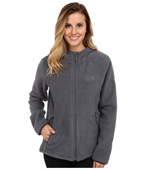 Mountain Hardwear - Dual Fleece Hooded Jacket (Graphite) Women's Jacket