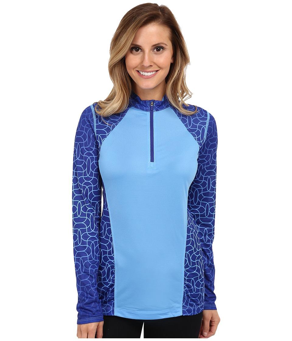 Mountain Hardwear - Wicked Electric Long-Sleeve Zip (Blue Star) Women