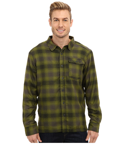 Mountain Hardwear - Trekkin Flannel Shacket (Shark) Men's Coat