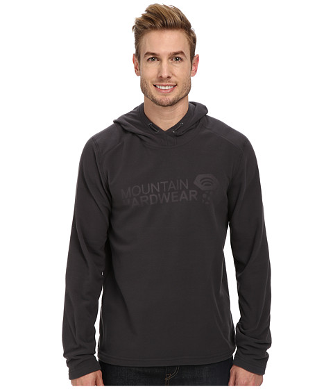 Mountain Hardwear - Microchill Pullover Hoody (Shark) Men