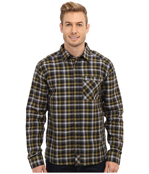 Mountain Hardwear - Reverse Grid L/S Shirt (Bronze) Men