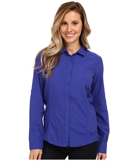 Mountain Hardwear - Canyon L/S Shirt (Nectar Blue) Women