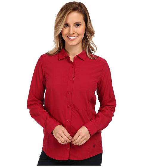 Mountain Hardwear - Canyon L/S Shirt (Pomegranate) Women