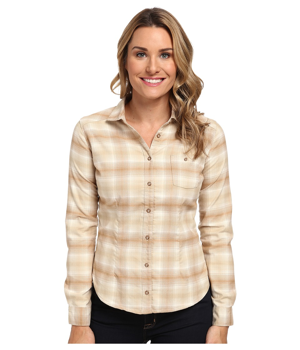 Mountain Hardwear - SonaLake L/S Shirt (Oatmeal) Women's Long Sleeve Button Up