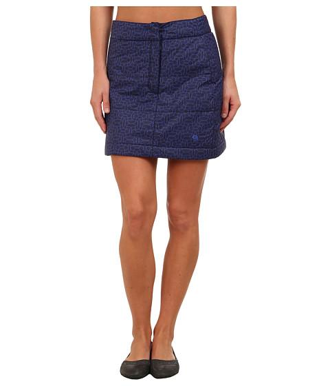 Mountain Hardwear - Trekkin Printed Skirt (Ebony Blue) Women