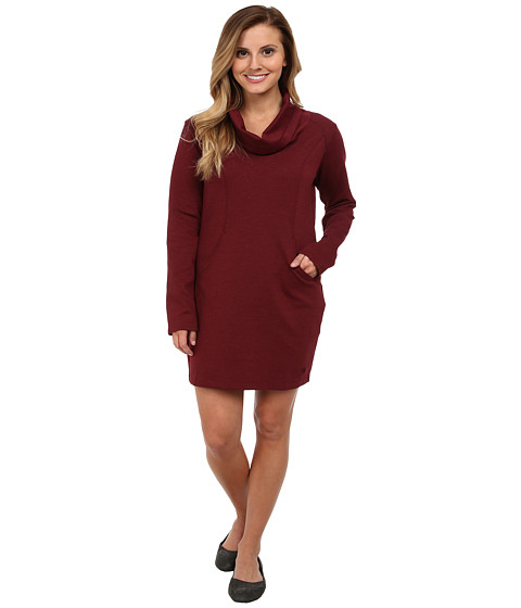 Mountain Hardwear - Pandra Ponte Dress (Rich Wine) Women