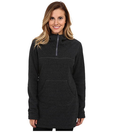 Mountain Hardwear - Toasty Stripe Tunic Hoody (Black) Women