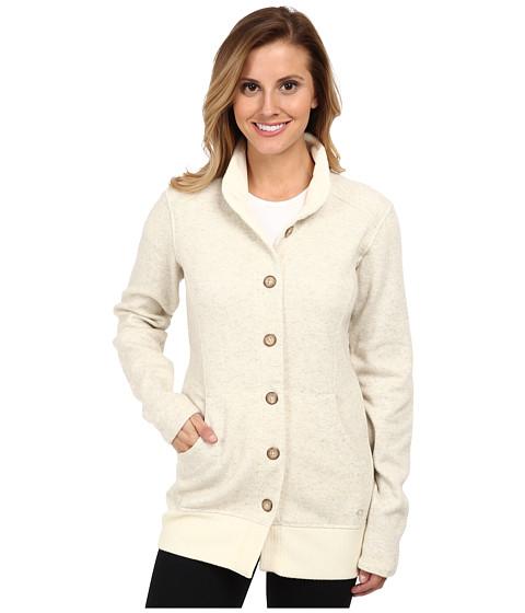 Mountain Hardwear - Sarafin Button Front Sweater (Snow) Women