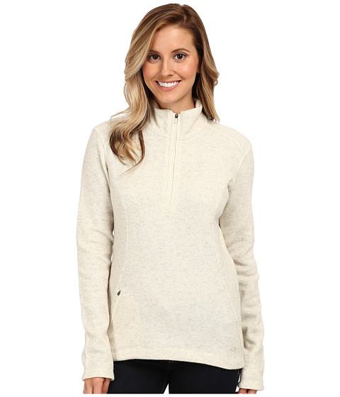Mountain Hardwear - Sarafin Half Zip Sweater (Snow) Women