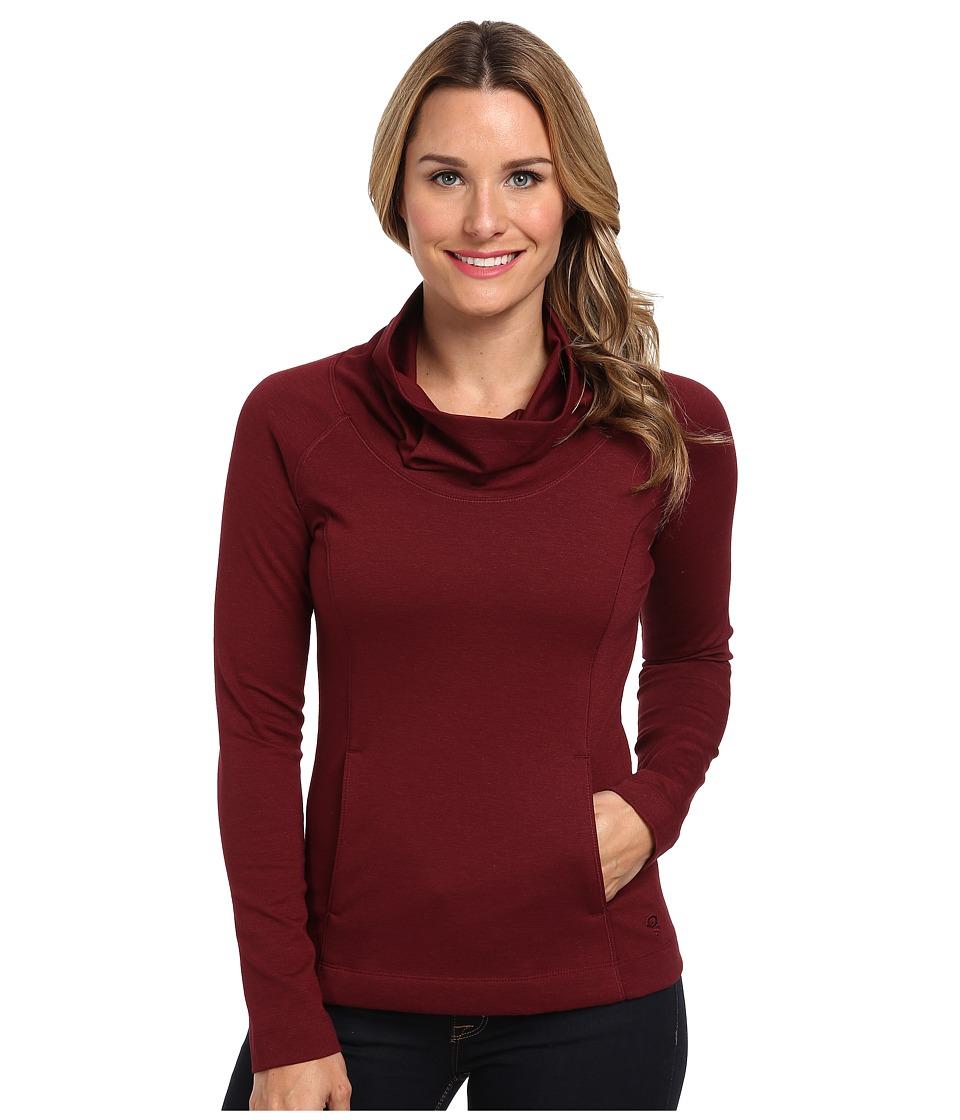 Mountain Hardwear - Pandra Ponte Cowl Neck Pullover (Rich Wine) Women