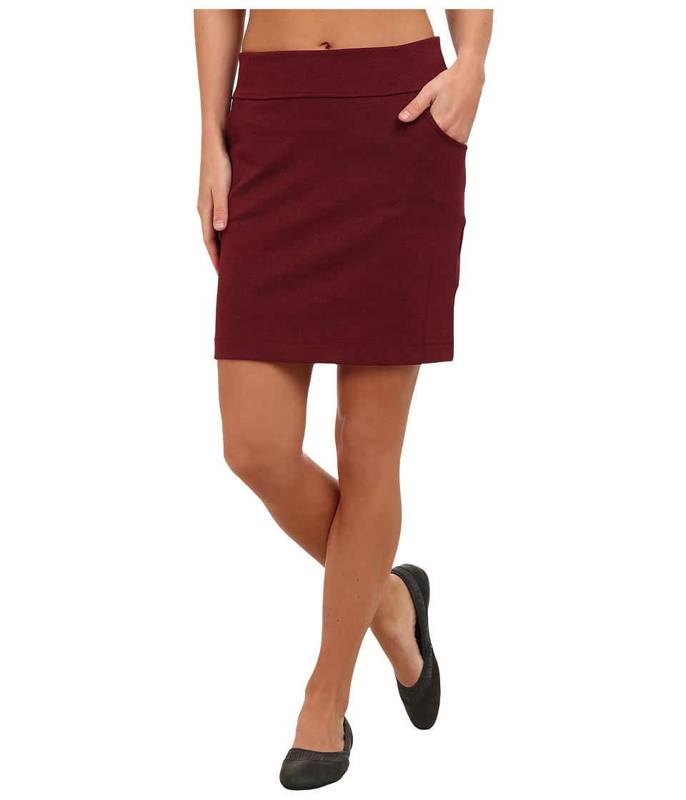 Mountain Hardwear - Pandra Ponte Skirt (Rich Wine) Women's Skirt
