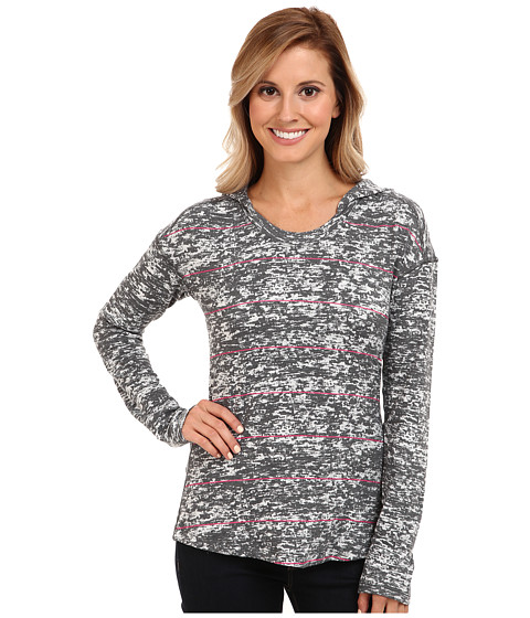 Mountain Hardwear - Burned Out L/S Hoodie (Graphite '14) Women's Sweatshirt