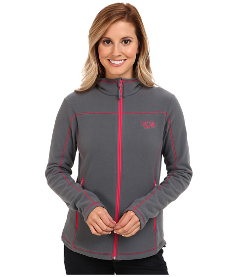 Mountain Hardwear - MicroChill Jacket (Graphite) Women's Fleece