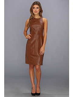 SALE! $271.99 - Save $223 on Vince Camuto Leather Dress (Vicuna) Apparel - 45.05% OFF $495.00