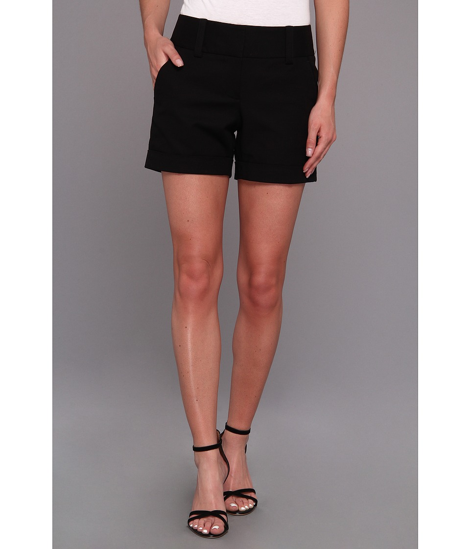 Vince Camuto - Cuffed Short (Rich Black) Women's Shorts