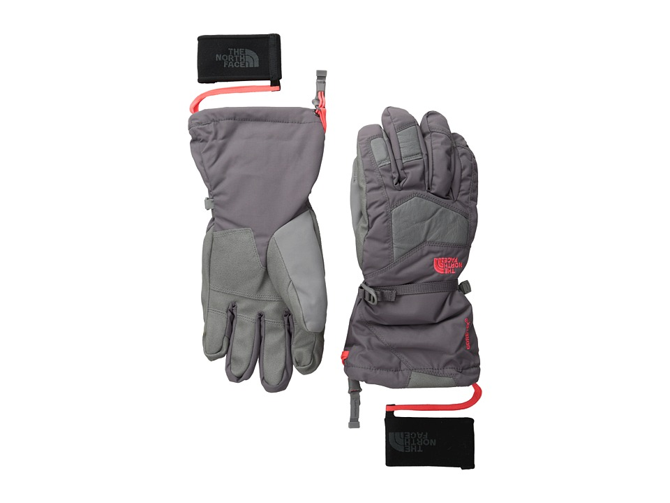 The North Face - Women's Powderflo Glove (Sonnet Grey) Ski Gloves