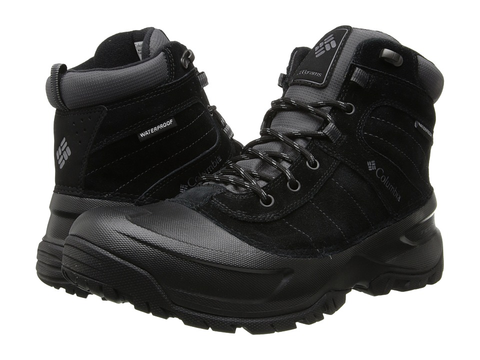 Columbia - Snowblade Waterproof (Black/Charcoal) Men