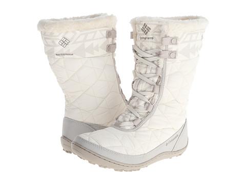 Columbia - Minx Mid II Omni-Heat (Winter White/Silver Sage) Women's Hiking Boots