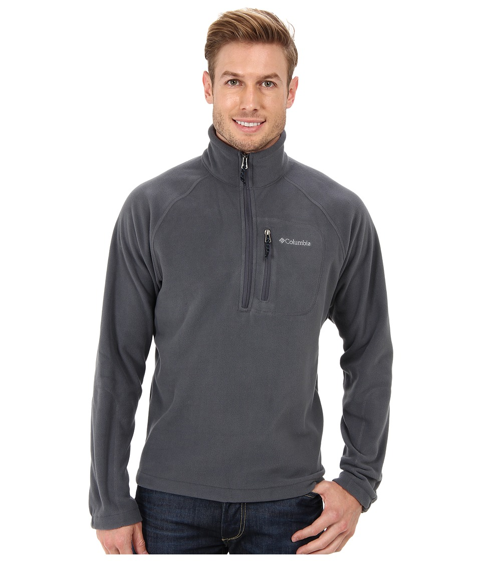 Columbia - Fast Trek II Half Zip Fleece (Graphite) Men's Jacket
