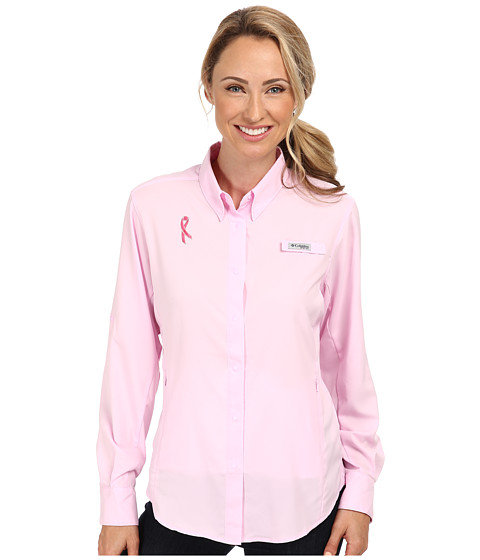 Columbia - Tested Tough In Pink Tamiami L/S Shirt (Isla) Women