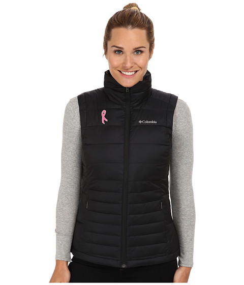 Columbia - Tested Tough in Pink Vest (Black) Women's Vest
