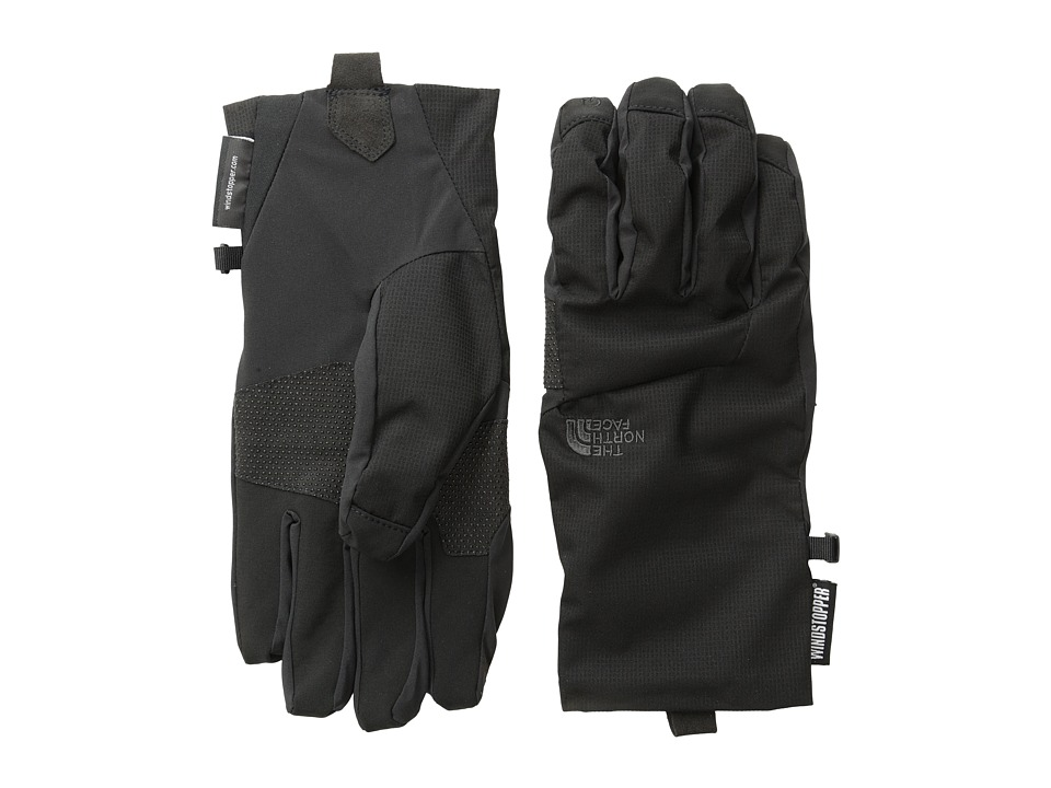 The North Face - Men's Quatro WINDSTOPPER Etip Glove (TNF Black) Extreme Cold Weather Gloves