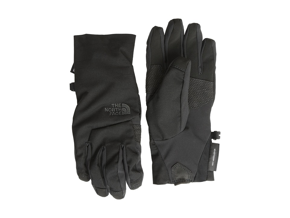 The North Face - Women's Quatro WINDSTOPPER Etip Glove (TNF Black) Extreme Cold Weather Gloves