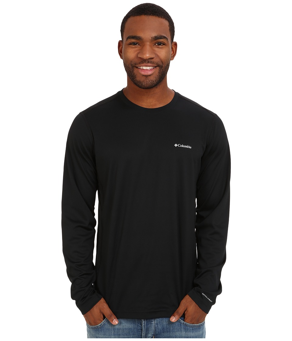Columbia - Midweight II Long Sleeve Top (Black) Men's Clothing