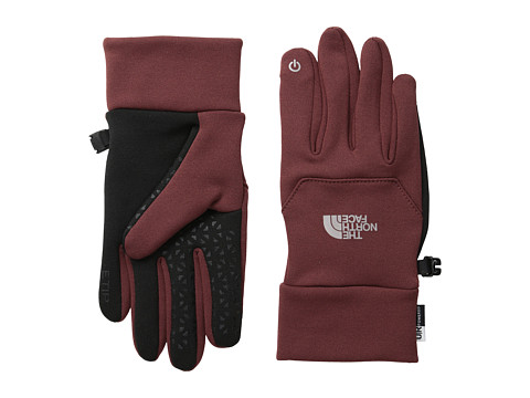 The North Face - Etip Glove (Cherry Stain Brown) Extreme Cold Weather Gloves