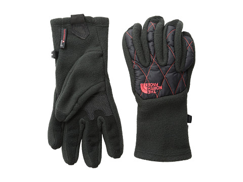 The North Face - Women's ThermoBall Etip Glove (TNF Black/Rambutan Pink) Extreme Cold Weather Gloves